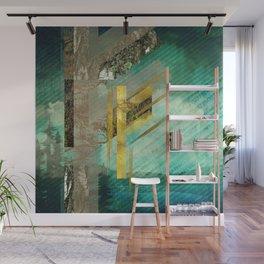 Fehu Rune Digital Art composition Wall Mural