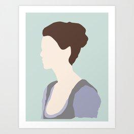 Claire Fraser Variant Art Print