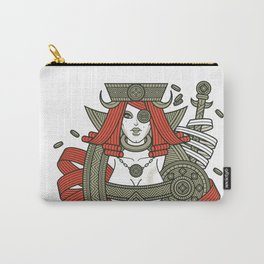 SINS Mentis - Greed Queen of Diamonds Carry-All Pouch