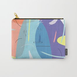 Stain 2 pattern design Carry-All Pouch