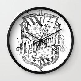 Hufflepuff Wall Clock