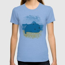 Why such a lonely beach? T-shirt