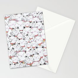 FIND THE PANDA - LUCKY CAT Stationery Cards