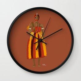 ORIXAS_ exu Wall Clock