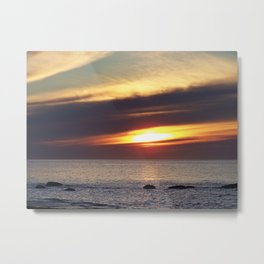 Serenity and the Sea Metal Print
