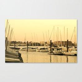 Harbor Sails Canvas Print