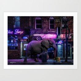 buying late night apologies Art Print