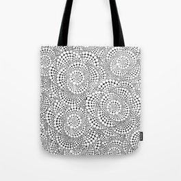 Flower-op-art Tote Bag