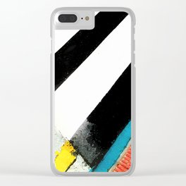 Urban Street Art Painting Clear iPhone Case