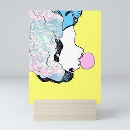 Bubble Girl Mini Art Print