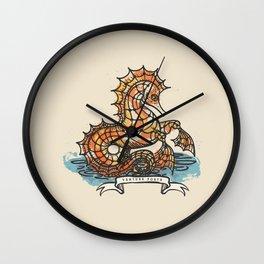 VENTURE FORTH Wall Clock