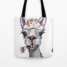 Alpaca Art, Diesel the Alpaca Tote Bag