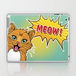 Super Cat Laptop & iPad Skin