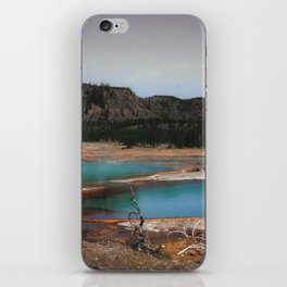 Upper Geyser Basin, yellowstone iPhone Skin