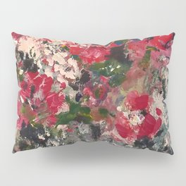 Abstract flowers and floral design by joel seguin Pillow Sham