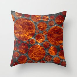red dwarf region Throw Pillow