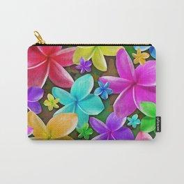 Plumerias Flowers Dream Carry-All Pouch