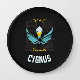 Saint of the Black Cygnus Wall Clock