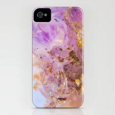 Amethyst Incrustrations iPhone (4, 4s) Slim Case