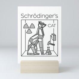 Schrodinger's Cat Mini Art Print