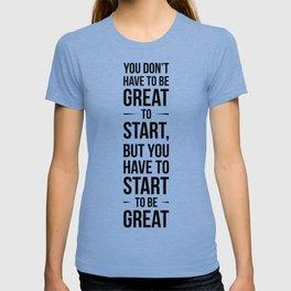 Start! T-shirt