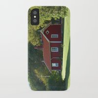 swedish iPhone & iPod Cases featuring Swedish Cottage  by Sarah Osterman