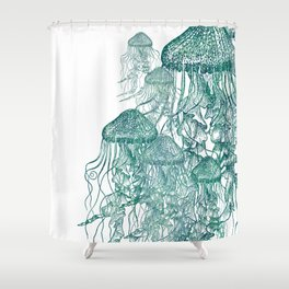 Two Tone Jellies Shower Curtain