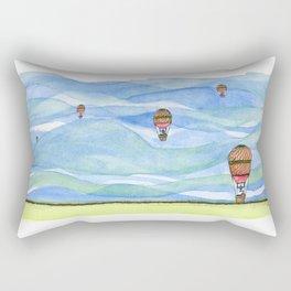 Float Away Rectangular Pillow