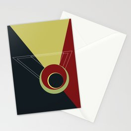 Euclid's universe Stationery Cards