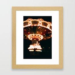 carnival dreaming Framed Art Print