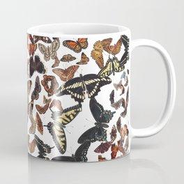 Butterflies of Maine Pattern Coffee Mug