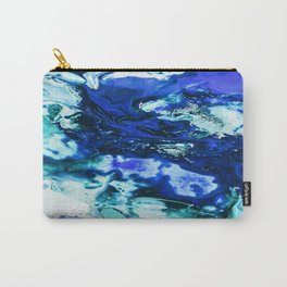 Liquid Abstract Carry-All Pouch