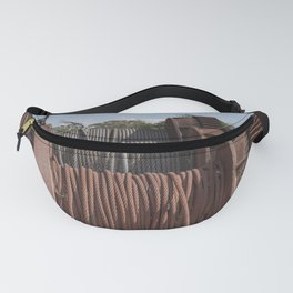 Steel Cables Fanny Pack
