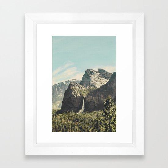 Yosemite Valley Waterfall by adventurecalling