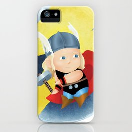 superhero n.3 iPhone Case