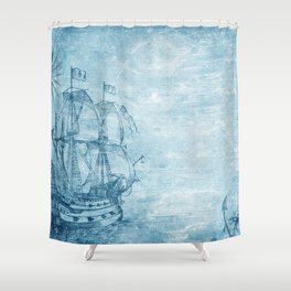 vessel Shower Curtain