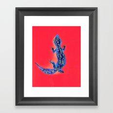 Leopard Gecko Framed Art Print