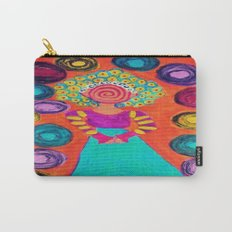 Spiralling Carry-All Pouch