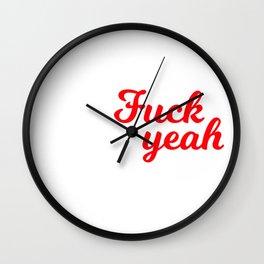 Fuck yeah Wall Clock