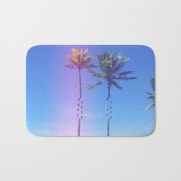 Fragmented Palm Bath Mat