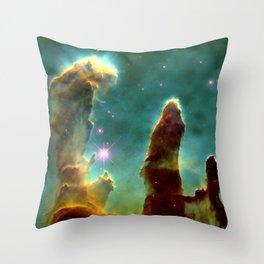 Eagle Nebula Pillars Throw Pillow