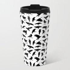 Ravens Metal Travel Mug