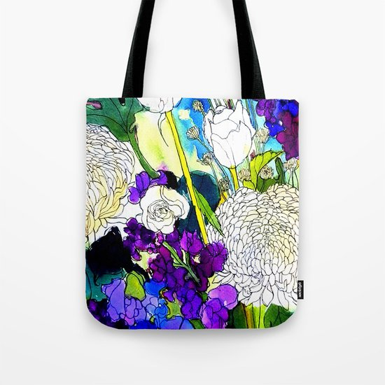 forest flowers 1 Tote Bag