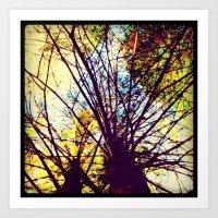 Tree close-up Art Print