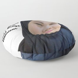 SKAM - Sana Bakkoush - You are strong and indipendent Floor Pillow