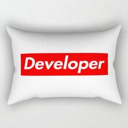 Developer - Programmer supreme Rectangular Pillow