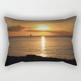 Seduced by the Sun Rectangular Pillow