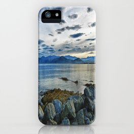 Dusk over South Bay, New Zealand iPhone Case