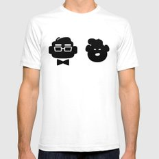 mr. fredricksen & russell White Mens Fitted Tee SMALL