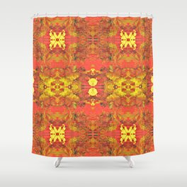 Heating Up Shower Curtain